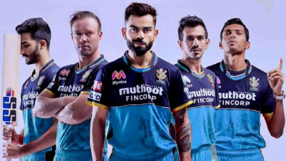 कोहली की टीम IPL एक मैच में लाल की जगह PPE किट वाले नीले रंग की जर्सी पहनकर मैदान में उतरेगी|क्रिकेट,Cricket - Dainik Bhaskar