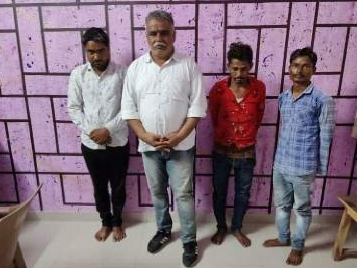 कार से एस्कॉर्ट कर शाहपुरा ले जाया जा रहा था 56 लाख का गांजा; 4 सप्लायर पकड़े, सीआईडी सीबी व पुर पुलिस का ज्वाइंट ऑपरेशन|भीलवाड़ा,Bhilwara - Dainik Bhaskar