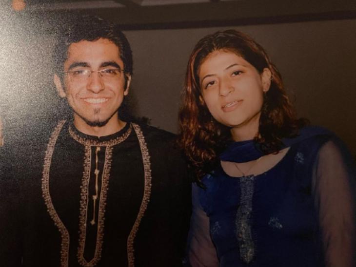 ताहिरा कश्यप ने थ्रोबैक फोटो शेयर कर पति आयुष्मान खुराना को किया बर्थडे विश, बोलीं-जब हम 19 साल के थे, तब आपने मेरा दिल जीता था|बॉलीवुड,Bollywood - Dainik Bhaskar