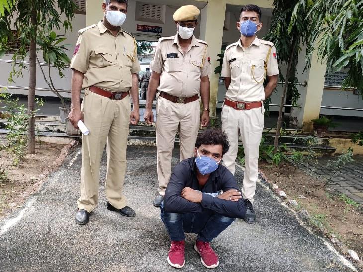 एक ओर युवक देशी कट्टे के साथ गिरफ्तार, पूछताछ में खुले कई राज, युवा सबसे बड़े खरीदार|भीलवाड़ा,Bhilwara - Dainik Bhaskar