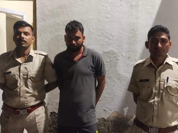 फर्जी अभ्यर्थी बिठाकर दिलवाने वाला था अपनी परीक्षा, पुलिस ने भीलवाड़ा से दबोचा|भीलवाड़ा,Bhilwara - Dainik Bhaskar
