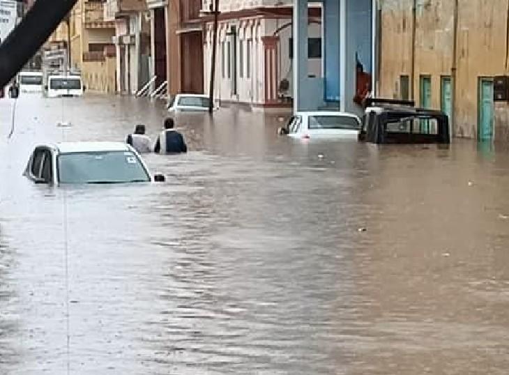 मौसम विभाग ने जारी किया उदयपुर, कोटा, जोधपुर और अजमेर संभाग के जिलों के लिए जारी किया ऑरेंज अलर्ट; 18 सितम्बर तक कहीं-कहीं 100MM तक हो सकती है बारिश|जयपुर,Jaipur - Dainik Bhaskar