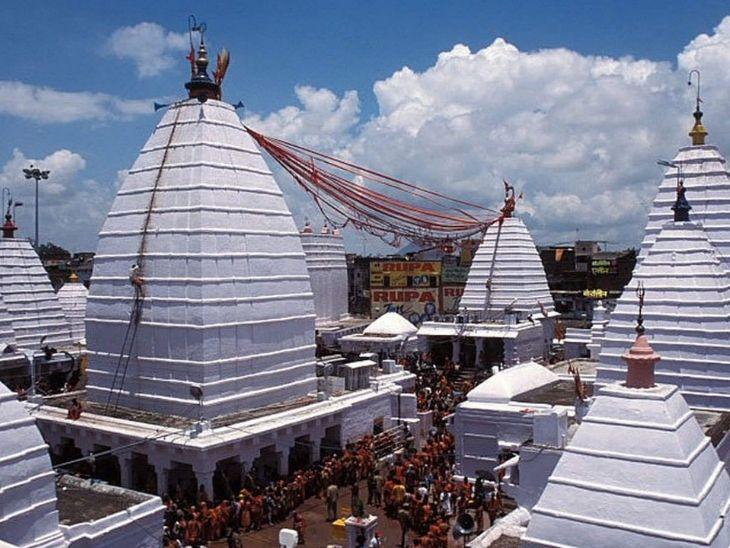 कोरोना के बाद से लगातार राज्य के मंदिरों में श्रद्धालुओं के प्रवेश को वर्जित कर दिया गया था। मंदिरों को खोलने की मांग लगातार की जा रही थी. (फाइल फोटो) - Dainik Bhaskar