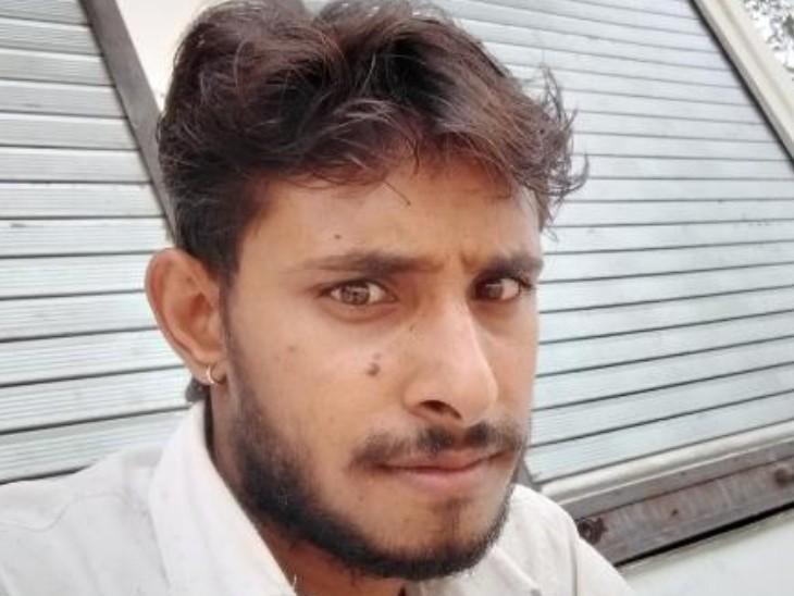 ठगी का शिकार सुनील कुमार। - Dainik Bhaskar