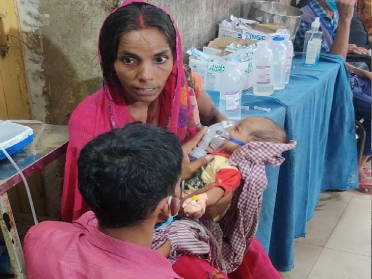 PMCH के साथ पटना के प्राइवेट अस्पतालों में बाहर से आने वाले मरीज भर्ती; 60 प्रतिशत मासूम बाहर से रेफर होकर आए हैं|बिहार,Bihar - Dainik Bhaskar