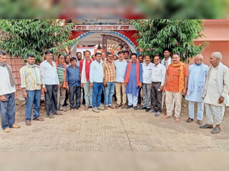 प्रधानमंत्री के जन्मदिवस को सेवा समर्पण के रूप में मनाने का लिया संकल्प। - Dainik Bhaskar