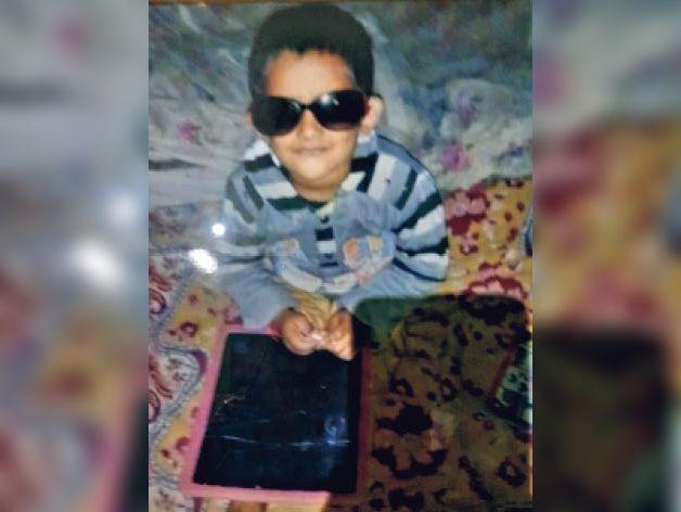 बालक श्रेयांश की फाइल फोटो - Dainik Bhaskar