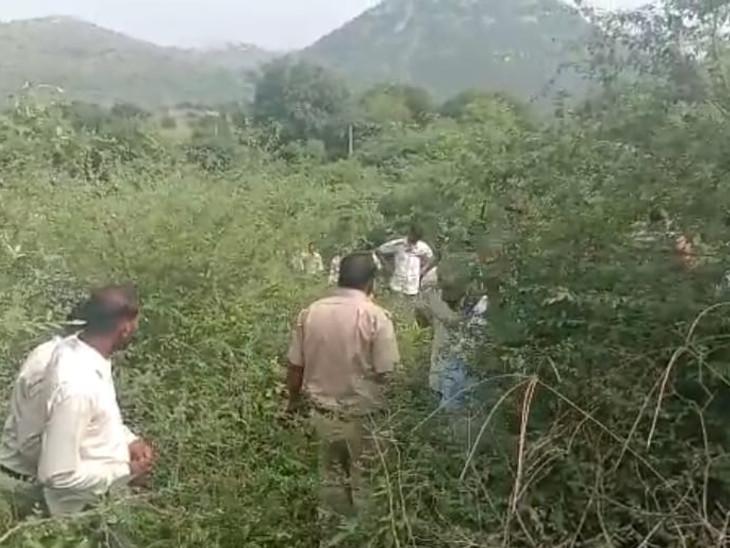 बहन बोली- जंगली जानवर उठाकर ले गया, लेकिन नहीं मिले सुराग; पुलिस अब दूसरे एंगलसे जांच में जुटी|अलवर,Alwar - Dainik Bhaskar
