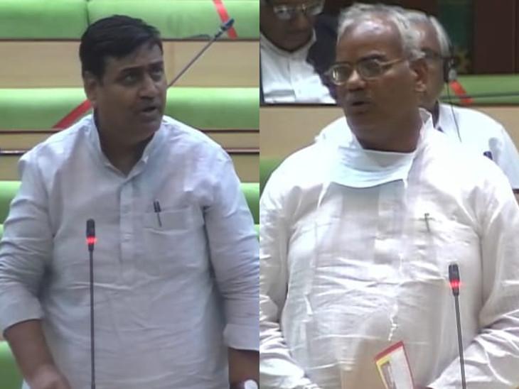 डोटासरा ने BJP को निंबाराम की पैरवी करने से टोका तो MLA ने अभद्रता की; स्पीकर के कहने पर माफी मांगी|जयपुर,Jaipur - Dainik Bhaskar