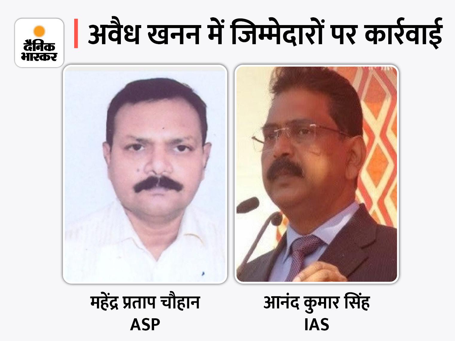 IAS आनंद कुमार सिंह को APC ब्रांच भेजा गया, मिर्जापुर में नमक-रोटी पर विवादित बयान देने वाले अनुराग पटेल नए डीएम बने|लखनऊ,Lucknow - Dainik Bhaskar