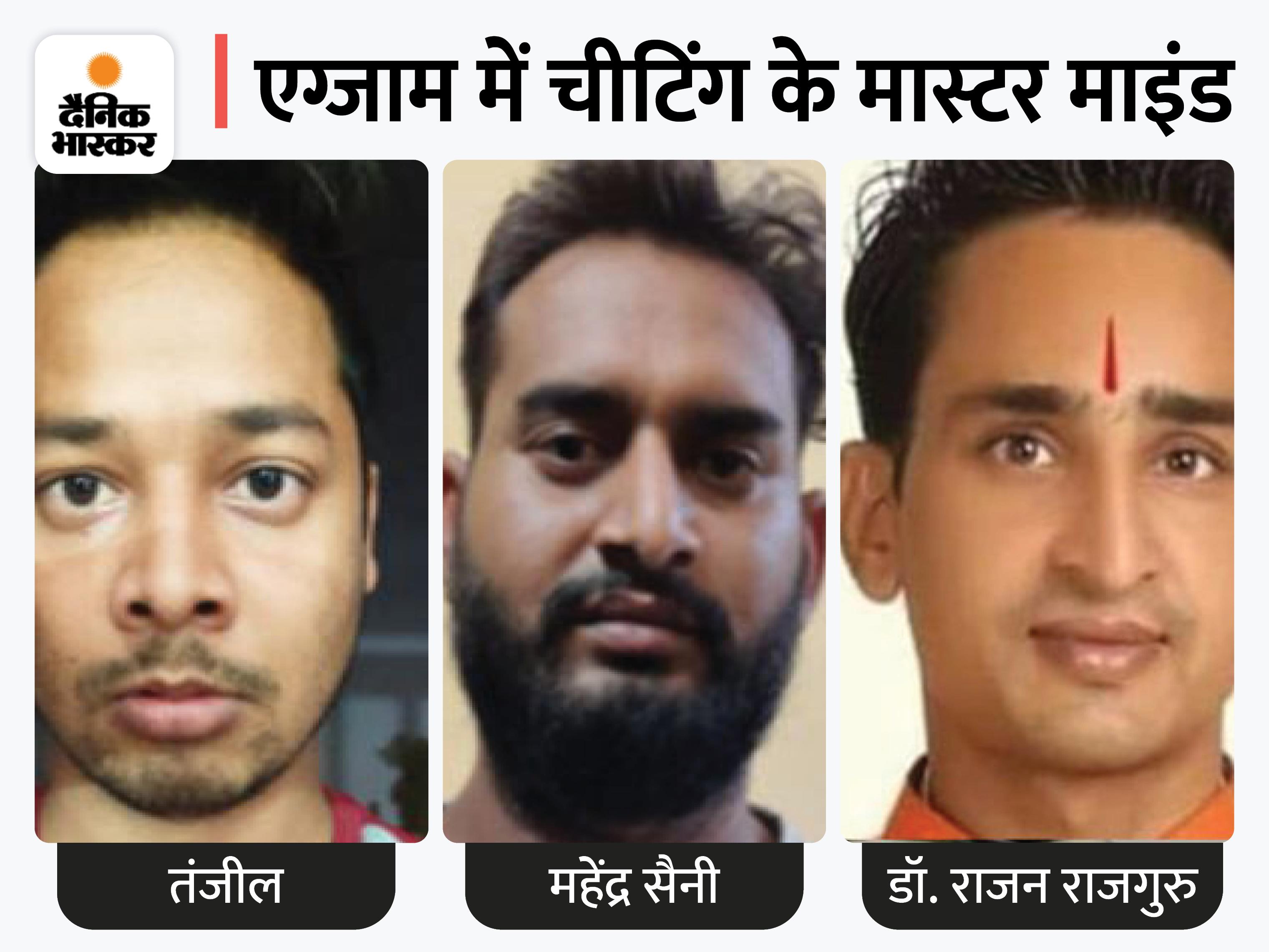राजस्थान की गैंग UP में तैयार करवाती थी स्टूडेंट्स की फोटोज, चकमा देने के लिए असली और फर्जी अभ्यर्थी की फोटो की जाती थी मिक्स|जयपुर,Jaipur - Dainik Bhaskar