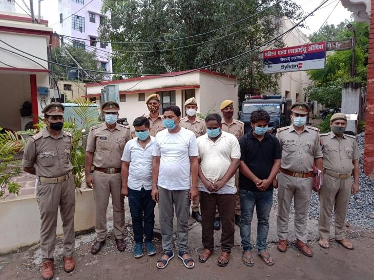 वाराणसी में आभूषण की दुकान में काम करने वाले युवक पर था चोरी का शक, बहनोई ने दोस्तों संग मार डाला था; 4 गिरफ्तार|वाराणसी,Varanasi - Dainik Bhaskar