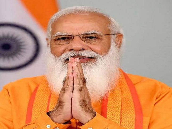 वाराणसी में भव्य तरीके से मनेगा PM मोदी का जन्मदिन, गंगा को चढ़ाई जाएगी 71 मीटर लंबी चुनरी; श्रम सम्मान समारोह होगा आयोजित|वाराणसी,Varanasi - Dainik Bhaskar