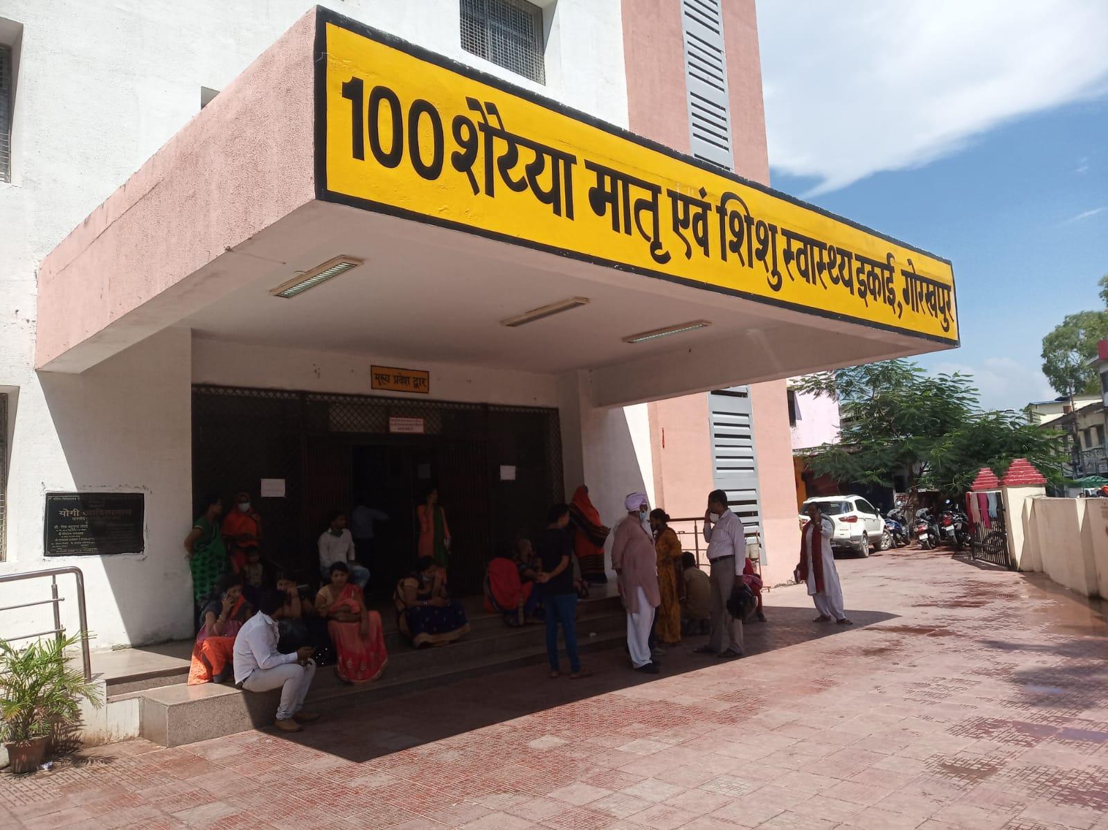 जिला अस्पताल में बुधवार को ओपीडी में आने वाले 123 बच्चों का इलाज किया गया, जबकि दोपहर 12 बजे तक 1136 मरीजों की ओपीडी हुई।