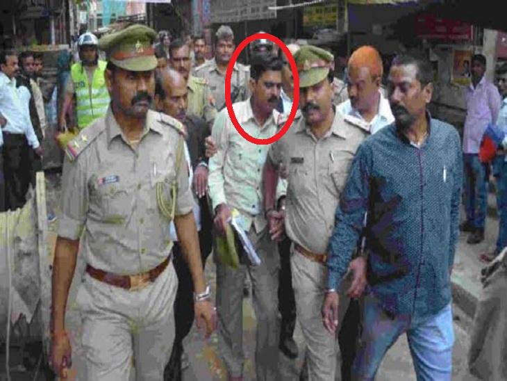 डेढ़ साल से राजनीतिक दबाव के चलते बचता रहा; वाराणसी से इंस्पेक्टर की ट्रेनिंग के लिए सीतापुर गया था, आज कोर्ट में पेशी|वाराणसी,Varanasi - Dainik Bhaskar