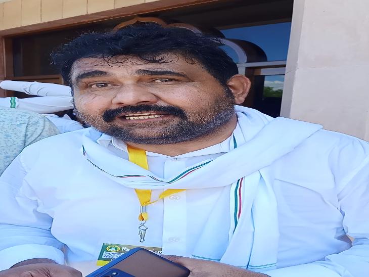 किसान संसद के आयोजक हिम्मत सिंह गुर्जर