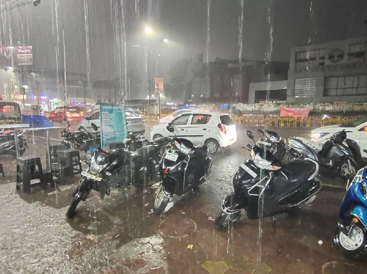 हरदा में 4 इंच तो भोपाल, इंदौर में एक इंच से ज्यादा बारिश; अगले चौबीस घंटे तक प्रदेश भर में पानी, पहली बार तबा डेम के गेट खुले|मध्य प्रदेश,Madhya Pradesh - Dainik Bhaskar