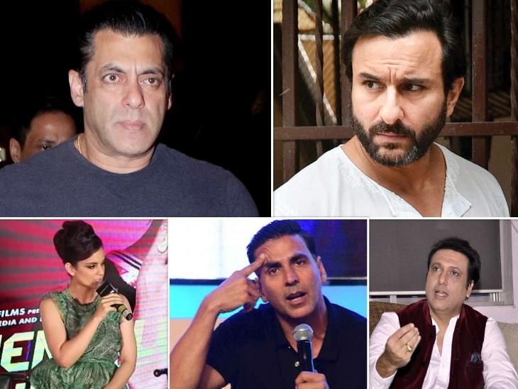 अक्षय कुमार, कंगना रनोट से लेकर गोविंदा तक, आम जनता से पब्लिकली झगड़ा कर विवादों से घिर चुके हैं ये बॉलीवुड के बड़े सितारे|बॉलीवुड,Bollywood - Dainik Bhaskar