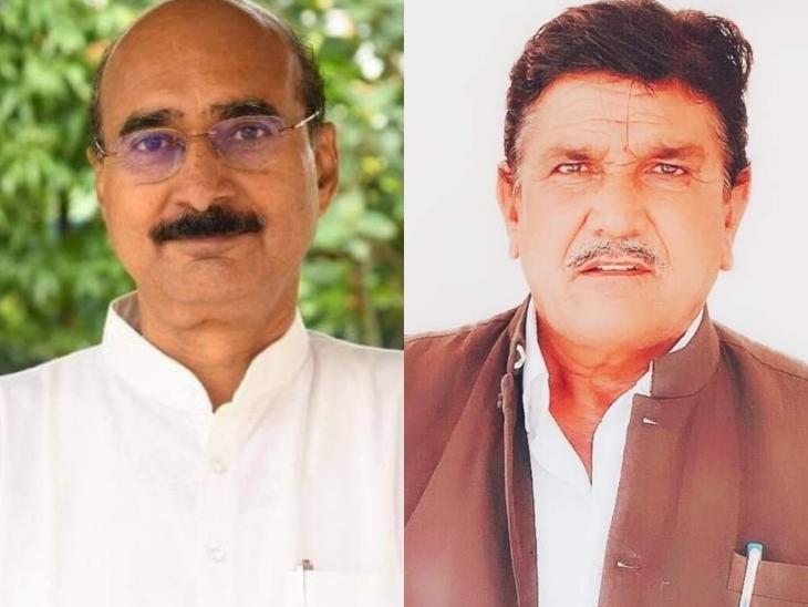 पूर्व प्रधान देराम विश्नोई ने पुखराज पाराशर पर लगाए गंभीर आरोप, बोले- पाली, जालोर व सिरोही जिले में कांग्रेस को खत्म करने में लगे हैं|जालोर,Jalore - Dainik Bhaskar