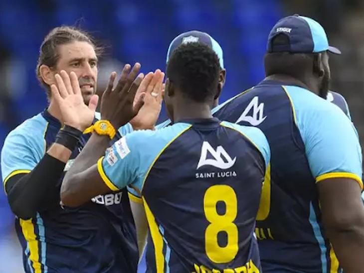 कैरेबियन प्रीमियर लीग 2021 फाइनल मुकाबला सेंट लूसिया और सेंट किट्स एंड नेविस पैट्रियट्स के बीच खेला जाएगा|क्रिकेट,Cricket - Dainik Bhaskar