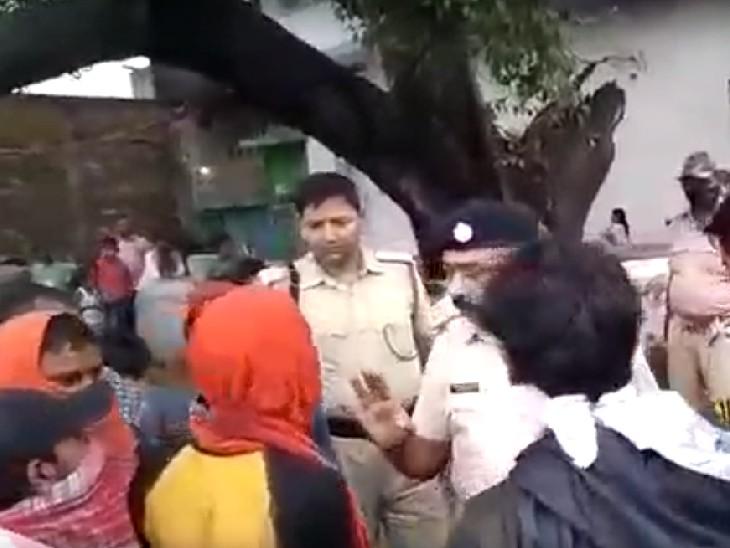 गया के कल्पू नगर में गोली मार कर हुई थी हत्या, पोस्टमॉर्टम के बाद शव मिलते ही परिजनों का हंगामा, सड़क भी जाम किया|बिहार,Bihar - Dainik Bhaskar