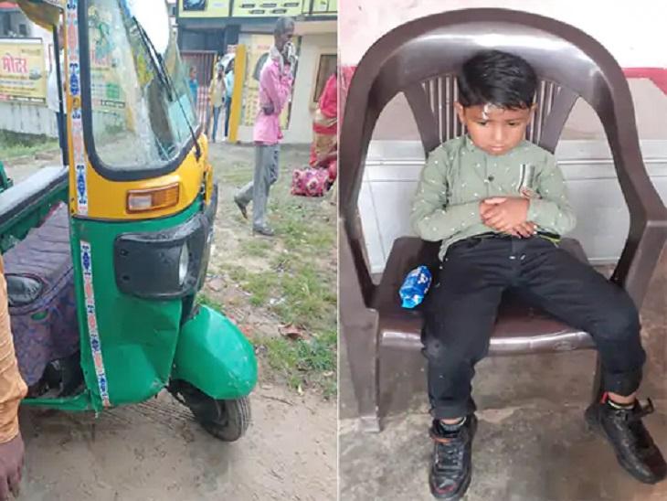 गोरखपुर हादसे में पांच साल के बच्चे समेत तीन की मौत। - Dainik Bhaskar