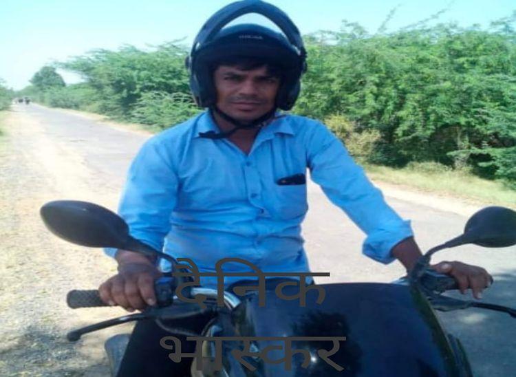 ट्रांसफर हुआ तो स्टे लेने जोधपुर हाईकोर्ट गए थे, वापस आते समय गलत साइड से आ रहा बाइक चालक टकराया|पाली,Pali - Dainik Bhaskar