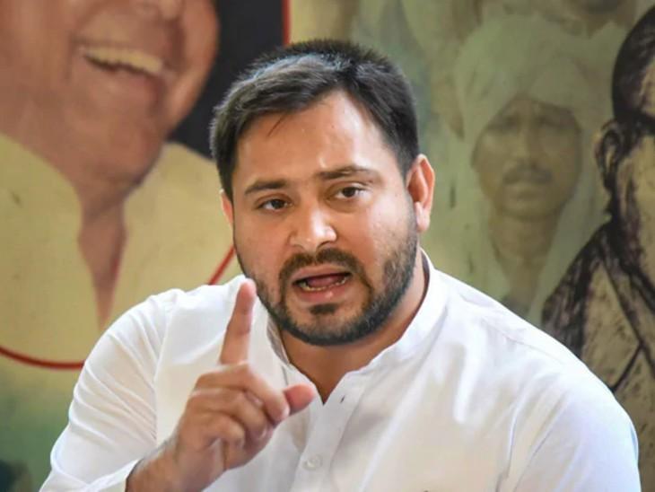नालंदा में आंदोलित किसानों को समझाने गए ASI को लोगों ने लाठी-डंडे से पीटा, तेजस्वी बोले- किसान आक्रोशित हैं; मंत्री घर से नहीं निकल रहे|बिहार,Bihar - Dainik Bhaskar