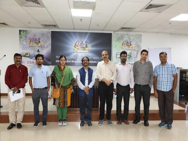 दवा खोजने वाले CDRI लखनऊ के वैज्ञानिकों की टीम।