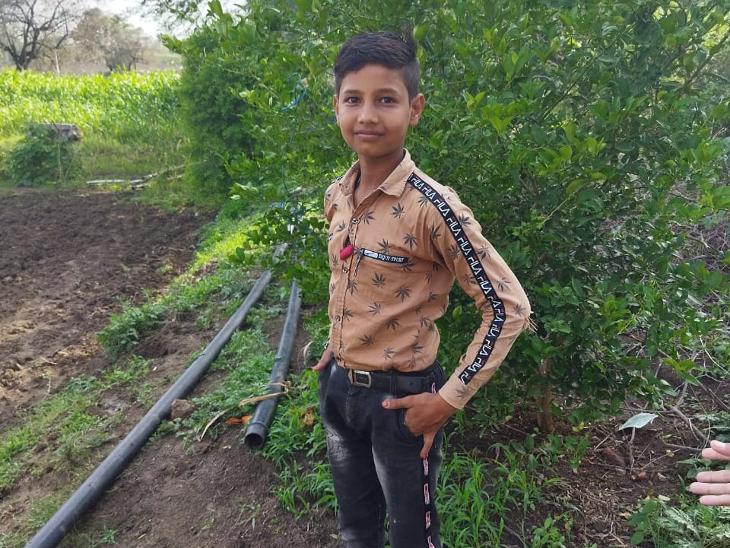 मृतक बालक हरिओम - Dainik Bhaskar