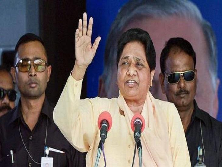 मायावती ने योगी सरकार को केवल नारे व दावे करने वाला बताया है। - Dainik Bhaskar
