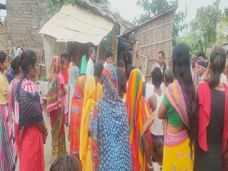 देशी शराब धंधेबाज़ों पर हत्या का आरोप, पत्नी ने कहा- घर से खींचकर की हत्या|मुजफ्फरपुर,Muzaffarpur - Dainik Bhaskar