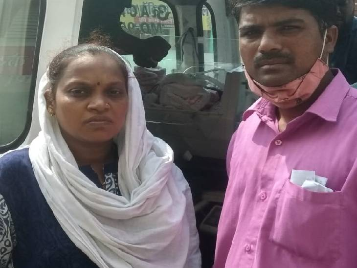 आर्थिक रूप से लाचार दंपती की गुहार पर कलेक्टर ने पीडियाट्रिक एम्बुलेंस से मासूम को भिजवाया मुंबई, होगा दिल का ऑपरेशन|जबलपुर,Jabalpur - Dainik Bhaskar