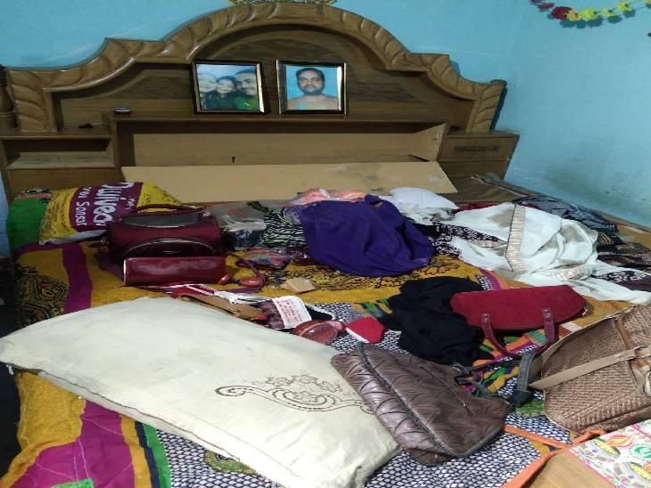 परिवार सोता रहा, चोर ले गए 20 लाख का सामान, अप्रैल में कोरोना से घर में मुखिया समेत दो की हुई थी मौत लखनऊ,Lucknow - Dainik Bhaskar