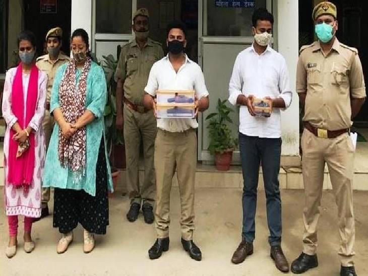 लखनऊ में युवक से नौकरी के नाम पर ठगी, ठग ने सीबीआई इंस्पेक्टर बन दी धमकी, दो महिला समेत चार लोग गिरफ्तार लखनऊ,Lucknow - Dainik Bhaskar