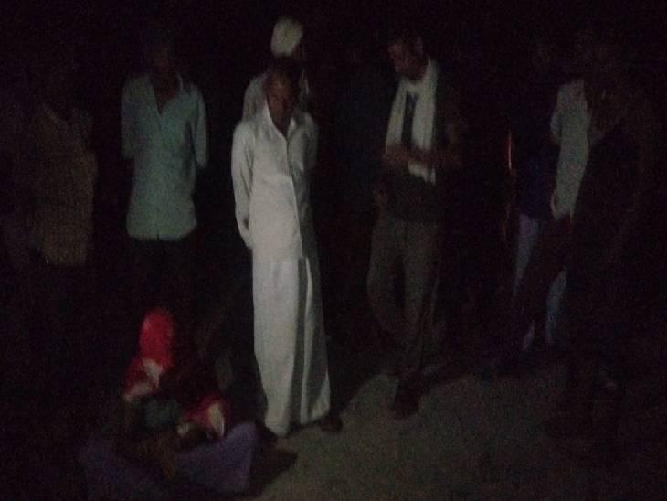 जमीनी विवाद में खूनी संघर्ष, युवक की गला रेतकर हत्या; हत्यारोपी मौके से फरार|कन्नौज,Kannauj - Dainik Bhaskar