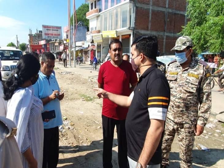 अभियान के बाद जोन छह में अतिक्रमण हटाने के साथ आवारा मवेशियों को पकड़ने का आदेश जारी किया। - Dainik Bhaskar
