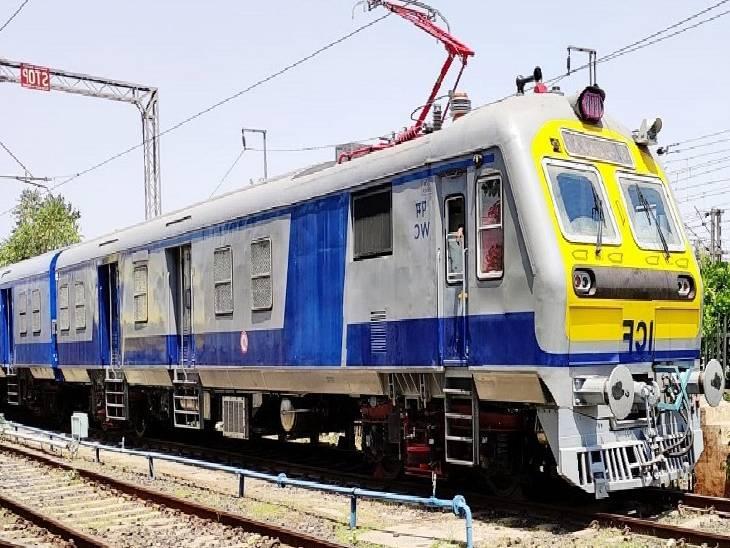 8 कोच की मेमू यात्रियों को लेकर निकली, चार मेमू पहले से हैं संचालित, 6.20 घंटे में पूरा होगा सफर|जबलपुर,Jabalpur - Dainik Bhaskar