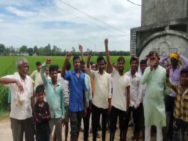 गांव वालों को राशन देने में करता था आनाकानी, शिकायत पर जांच करने पहुंचे अधिकारी, कोटा किया निलंबित|सिद्धार्थनगर,Siddharthnagar - Dainik Bhaskar