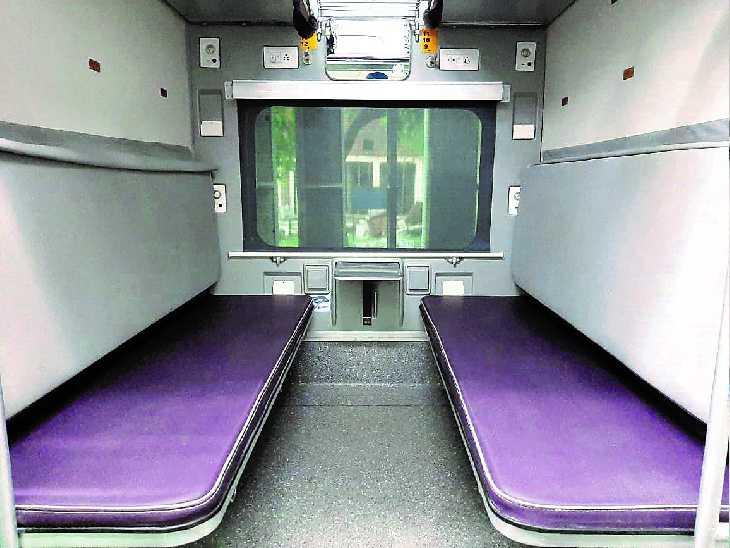 रेल काेच फैक्ट्री में 150 काेच में यात्रियाें काे अाग से बचाव के लिए लगाया गया पाॅली यूरीथिन सिस्टम - Dainik Bhaskar