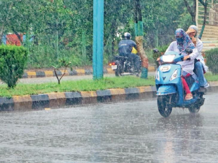 कुल आंकड़ा 26 इंच तक पहुंच गया, औसत बारिश से अब करीब 9 इंच पीछे। - Dainik Bhaskar