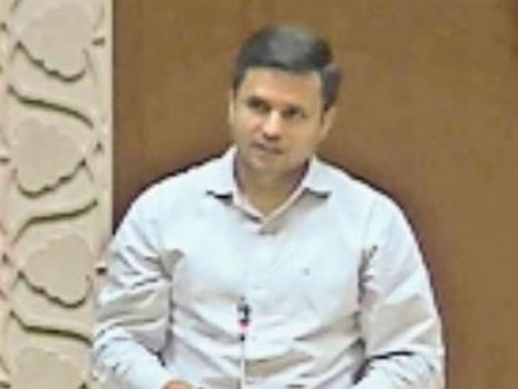 मुंडावर विधायक मंजीत धर्मपाल चौधरी ने विधानसभा में उठाया मामला। - Dainik Bhaskar