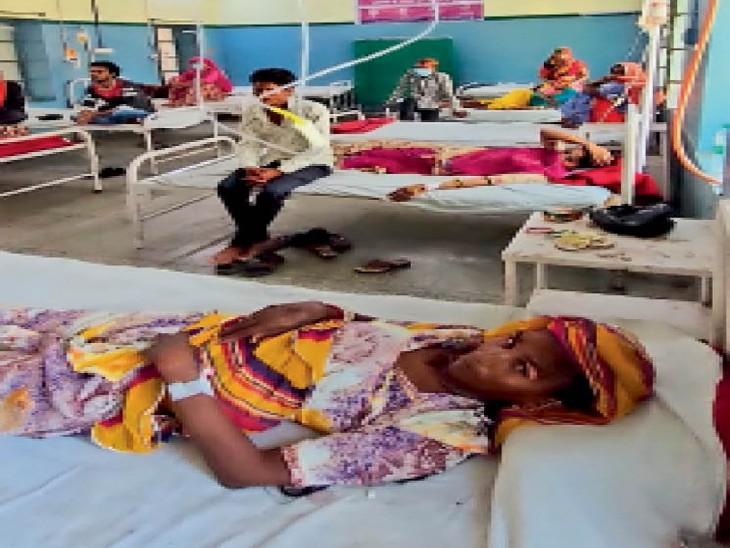 पट्टी व गॉज जैसे आइटम के लिए भी मरीजों को भेजा जा रहा है बाहर, कई इंजेक्शन भी नहीं। - Dainik Bhaskar