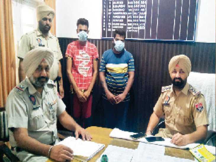 राशन के नाम पर लोगों को ठगने वाले आरोपी पुलिस की गिरफ्त में। - Dainik Bhaskar