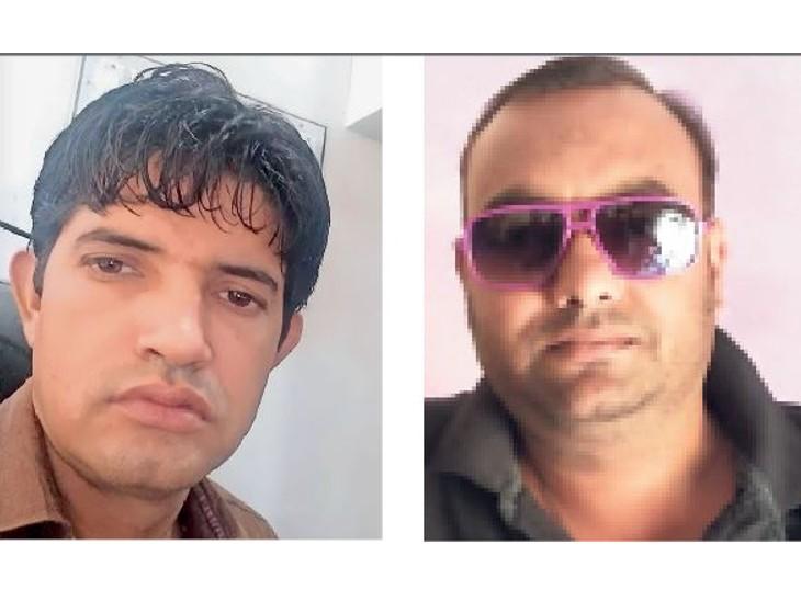 राजाराम बिश्नोई कोचिंग संचालक, दिनेशसिंह चौहान प्रिंसिपल । - Dainik Bhaskar