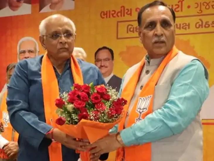 घाटलोडिया विधानसभा क्षेत्र से विधायक भूपेंद्र पटेल राज्य के नए मुख्यमंत्री बने हैं, अब मंत्रिमंडल में नए चेहरे भी आ सकते हैं। - Dainik Bhaskar