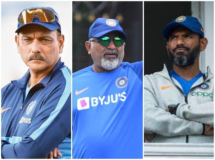 शास्त्री, श्रीधर और अरुण में फिलहाल कोई लक्षण नहीं, RT-PCR रिपोर्ट निगेटिव आने के बाद होगी वापसी क्रिकेट,Cricket - Dainik Bhaskar