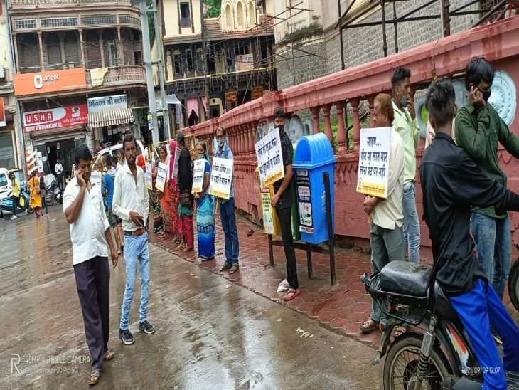 कल से अतिक्रमण करने वाले बड़े व्यापारियों की दुकानों की होगी वीडियोग्राफी, खुद ने नहीं हटाया तो नगर निगम हटा देगी|इंदौर,Indore - Dainik Bhaskar