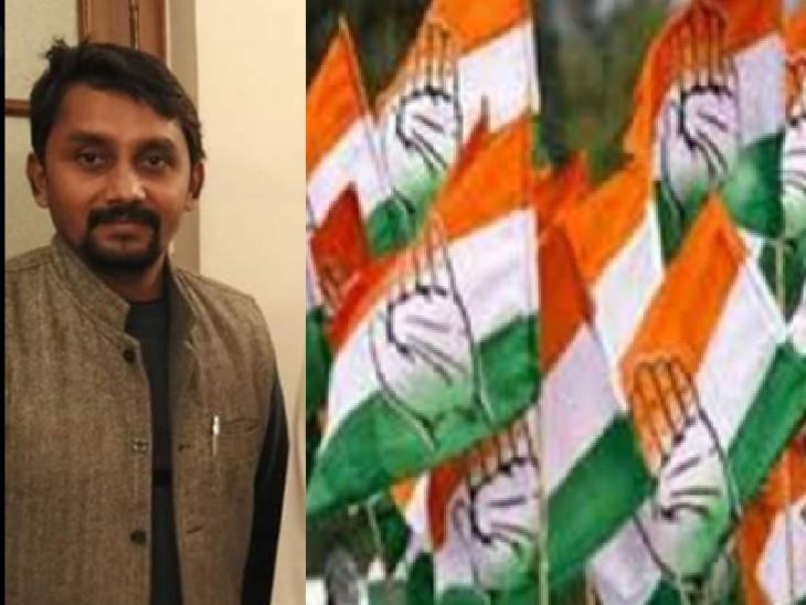 पिछड़ा वर्ग कांग्रेस के महासचिव आए , कांग्रेस कार्यकर्ताओं से मुलाकात कर बोले- कांग्रेस पार्टी ने हमेशा पिछड़ा वर्ग के अधिकारों का ख्याल रखा|भिंड,Bhind - Dainik Bhaskar