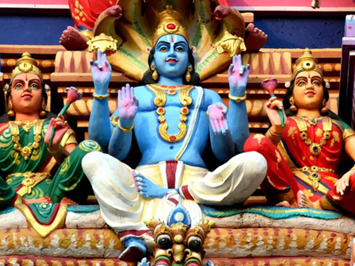 कन्या संक्रांति, शुक्रवार और एकादशी का योग 17 को; विष्णु जी के साथ ही महालक्ष्मी का दक्षिणावर्ती शंख से करें अभिषेक|धर्म,Dharm - Dainik Bhaskar